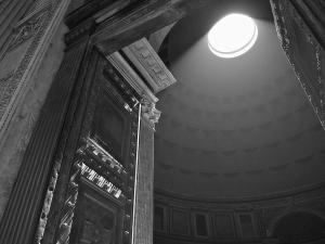 Pantheon black and white