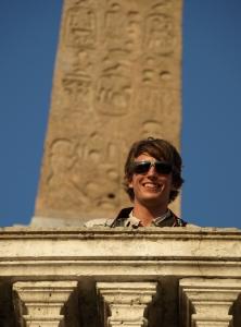 Rome obelisk Spanish steps