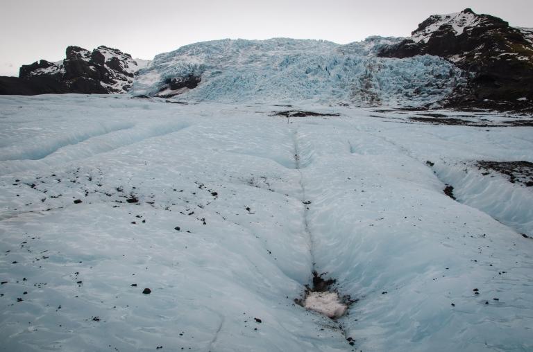 Vatnajökull Glacier hike