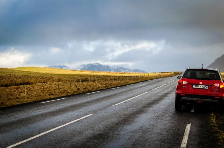 Iceland hire car Suzuki