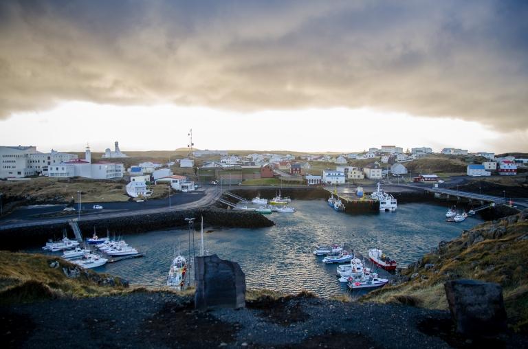 Stykkisholmur harbour