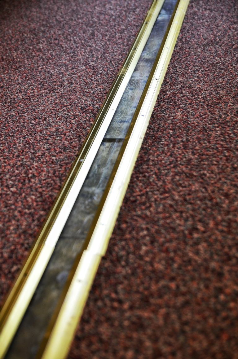 Bromley House Library Meridian Line